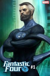 Marvel - Fantastic Four # 1 Artgerm Mr Fantastic Variant