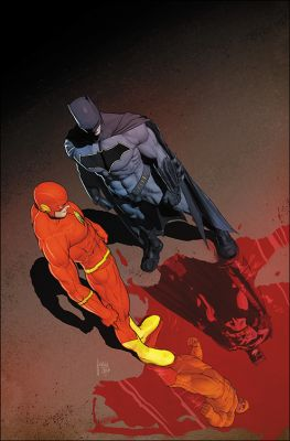 Flash #21 (The Button) International Cover