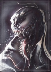 Diğer - Görkem Demir Limited Edition Holo Sketch Card #20 Venom