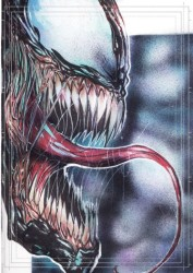 Diğer - Görkem Demir Limited Edition Holo Sketch Card #27 Venom