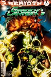 DC - Green Lanterns #1 2nd PTG