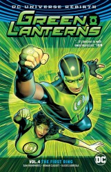 DC - Green Lantherns (Rebirth) Vol 4 The First Ring