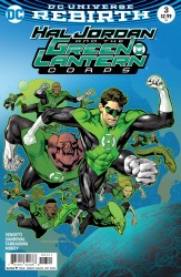 DC - Hal Jordan And The Green Lantern Corps # 3 Variant