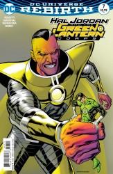 DC - Hal Jordan And The Green Lantern Corps # 7 Variant