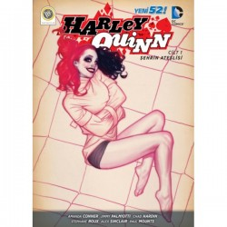 JBC Yayıncılık - Harley Quinn (Yeni 52) Cilt 1 Şehrin Ateşlisi
