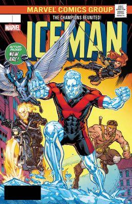 Iceman #6 Ryan Lenticular Homage Variant