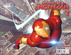 Marvel - Invincible Iron Man # 1 (2015) Premiere Variant
