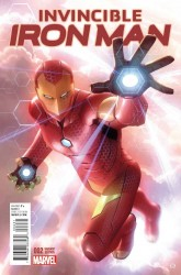 Marvel - Invincible Iron Man #2(2015) Garner Variant