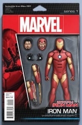 Marvel - Invincible Iron Man # 1 (2015) Action Figure Variant