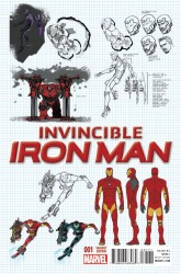Marvel - Invincible Iron Man #1(2015) Marquez Design Variant