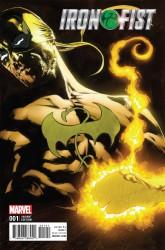 Marvel - Iron Fist # 1 Perkins Variant