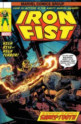 Marvel - Iron Fist #73 Perkins Lenticular Homage Variant