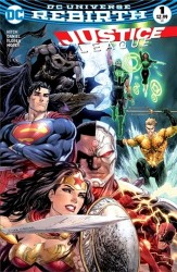 DC - DF Justice League #1 Exclusive Variant