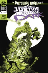 DC - Justice League Dark # 4 Foil
