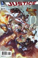 DC - Justice League New 52 # 33 1:25 Variant