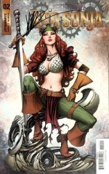 Dynamite - Legenderry Red Sonja # 2 Joe Benitez İmzalı Sertifikalı