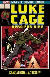 Marvel - Luke Cage #166 Johnson Lenticular Homage Variant