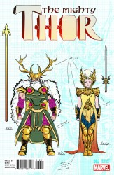 Marvel - Mighty Thor # 2 Dauterman Design Variant
