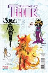 Marvel - Mighty Thor # 3 Dauterman Design Variant