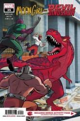 Marvel - Moon Girls And Devil Dinosaur # 35