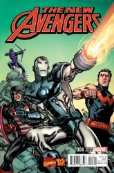 Marvel - New Avengers # 4 Raney Marvel 92 Variant