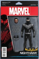Marvel - Nighthawk # 1 Christopher Action Figure Variant