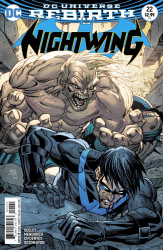 DC - Nightwing # 22 Variant