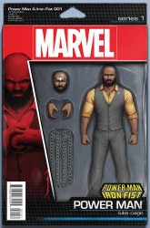 Marvel - Power Man and Iron Fist #1 Action Figure Luke Cage Variant