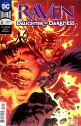 DC - Raven Daughter Of Darkness # 2 Yanick Paquette İmzalı Sertifikalı