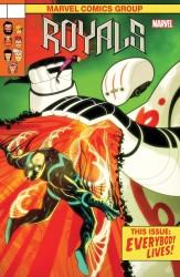 Marvel - Royals # 9 Doe Lenticular Homage Variant
