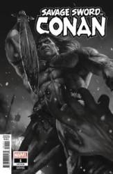 Marvel - Savage Sword Of Conan # 1 Rahzzah B & W Variant