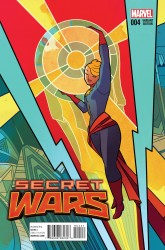 Marvel - Secret Wars #4 Henderson Variant