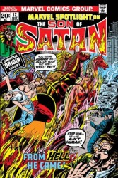 Marvel - Son Of Satan Marvel Spotlight # 12 Facsimile Edition