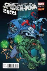 Marvel - Spider-Man 2099 #4 1:20 Ferry Marvel 92 Variant