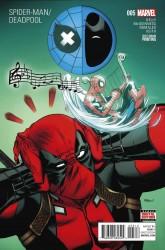 Marvel - Spider-Man Deadpool # 5 2nd Ptg
