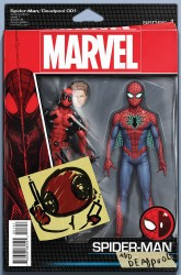 Marvel - Spider-Man Deadpool # 1 Christopher Action Figure Variant