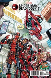 Marvel - Spider-Man/Deadpool #14 Nauck DCD C2C Variant