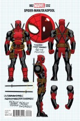 Marvel - Spider-Man Deadpool # 2 Build Your Own Deadpool Variant