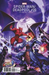 Marvel - Spider-Man Deadpool # 20 Marvel vs Capcom Variant