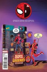 Marvel - Spider-Man/Deadpool #1 Action Figure Photo Variant