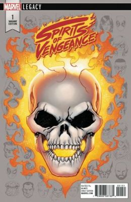 Spirits Of Vengeance # 1 McKone Headshot Variant