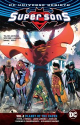 DC - Super Sons (Rebirth) Planet Of The Capes Vol 2 TPB