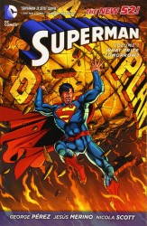 DC - Superman (New 52) Vol 1 What Price Tomorrow TPB