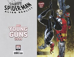 Marvel - Symbiote Spider-Man Alien Reality # 1 Kuder Young Guns Variant