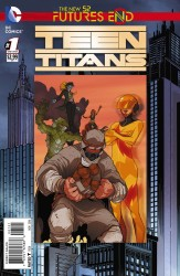 DC - Teen Titans Futures End # 1 Lenticular Variant