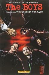 Dynamite - Boys Vol 1 The Name of the Game TPB Darick Robertson İmzalı