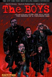 Dynamite - Boys Vol 11 Over the Hill with the Swords of a Thousand Men TPB Darick Robertson İmzalı