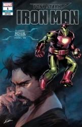 Marvel - Tony Stark Iron Man # 1 Classic Space Armor Variant