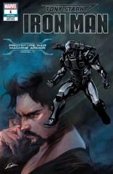 Marvel - Tony Stark Iron Man # 1 War Machine Stark Armor Variant