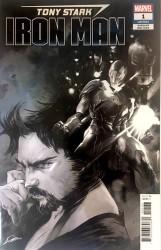Marvel - Tony Stark Iron Man # 1 B&W Variant